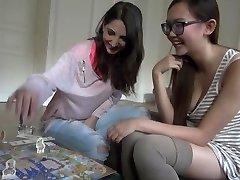 Pornstars Play Games: Jimena Lago & warm Asian