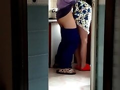 Chinese MILF in the Kitchen (to Begin).MP4