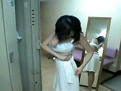 Asian Girl Take a Shower