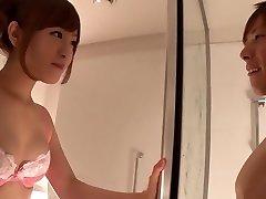 Fabulous Chinese chick Minami Kiritani in Crazy duo, showers JAV scene