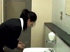 Boning IN A BATHROOM STALL
