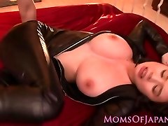 Blown asian milf pussy pounded