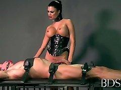 Super-naughty pornstar in Hottest Domination & Submission, Handjobs xxx scene