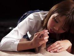 Hand-job Japan: Rion Karina