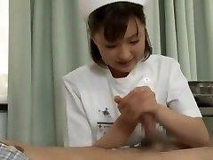 Finest Japanese chick Yukiko Suo in Crazy Handjobs JAV gig