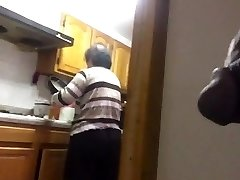 Asian Granny Morning Flash