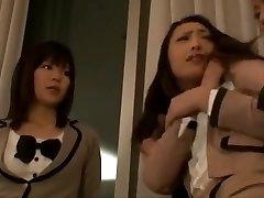 Japanese Teacher Can't Resist Lovely Schoolgirl