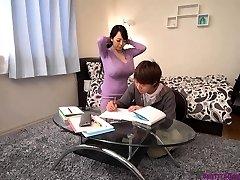 Busty asian educator huge boobs