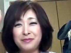 Asian Plump Mature Creampie Sayo Akagi 51years