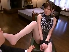 Best Japanese girl Rico Yamaguchi in Exotic Foot Fetish, Stockings/Pansuto JAV movie