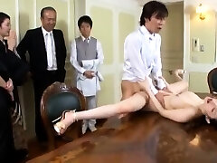 Huge boobs slut sex in public