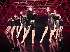 hot Korean girls dance glamour