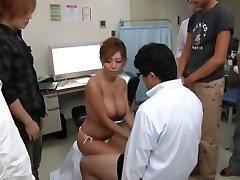 Exotic Japanese nymph Kairi Uehara in Incredible Ginormous Tits, Money-shots JAV movie