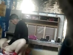 Asian OLD MAN MATURE COUPLE Covert CAMERA 老头 老夫妻 2
