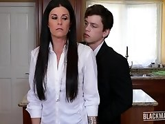 India Summer Blackmailed Cougar Pays Hubbies Debt Blackmailed