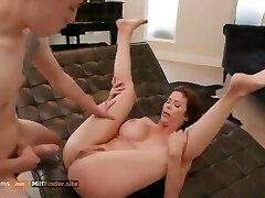cute man got a valuable lesson from a gorgeous milf