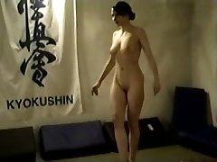 Nude Brunette Catfight