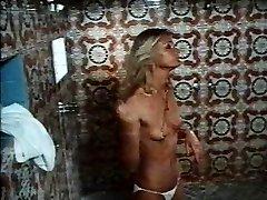 1970s movie Hard Erection shower sex sequence