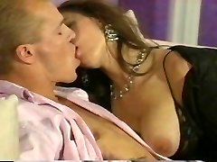 Romantic duo fucking hard at home
