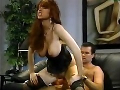 Huge-titted real squirter..