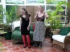 Vintage Village Ladies Summer Stripping Joy