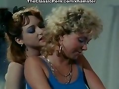 Ginger Lynn Allen, Lois Ayres, Gina Carrera in old-school romp