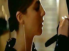 Fabulous celeb Anna Mouglalis gets nude in the film Under a False Name