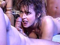 Victoria Paris in 80's porno hook-up