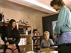 In the Office a Big Tits try Lesbo Fisting and Ass-fuck Penetrate