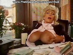 Classic video with office sucky-sucky