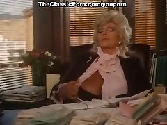 Classic video with office oral pleasure
