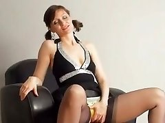 Kirsty Blue Drains With Her Undies On
