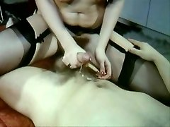 Sexy Vintage vid of hot sex stockings and wool