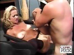 Intense Clinic Romping Orgasm