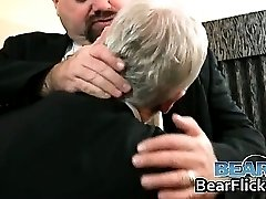Chubby gay bears get acquainted part3
