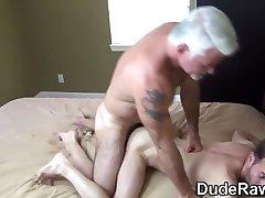 Polar bear fucks ass wet