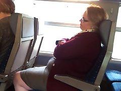 Flash in a train