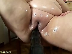 bbw mommy gets pumped and anal boinked
