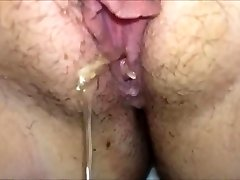 Busty amateur fapping fat meatpipe by the pool