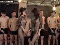 Exotic Japanese whore in Best Fishnet, Inexperienced JAV pinch