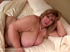 Curvy Sharon - Mommie Gives You Your First Inhale Job
