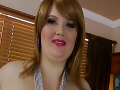 Sexy big gorgeous woman Red Hair