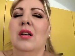 Outstanding buxomy MILF Mira D attending in unbelievable blowjob porn