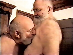 No Introduction necessary 2 hot Chubby Grandpa in Action