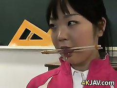 Sweet Asian Schoolgirl Tied Up