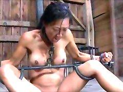asian slave degraded