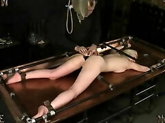 Enema Punishment on Clyster Table