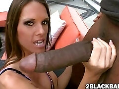 Jennifer Dark banged by big dark-hued dick