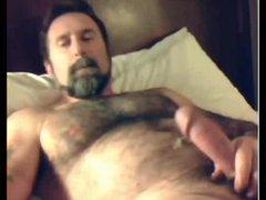 Furry Bear Shoots His load