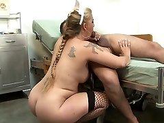 Best pornstar in astounding blonde, blowjob sex clip